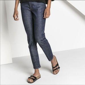 Birkenstock Patent Leather Purple Sandals 38